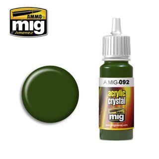 Ammo Paint, Crystal Green 17ml