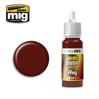 Ammo Paint, Crystal Red 17ml