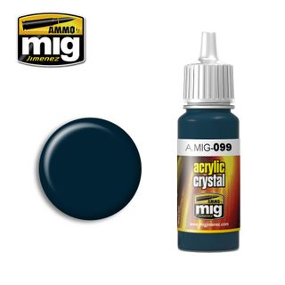 Ammo Paint, Crystal Black Blue (And TailLight Off) 17ml