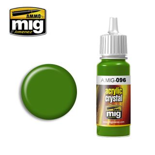 Ammo Paint, Crystal Green Periscope (AndTail Light On) 17ml