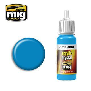 Ammo Paint, Crystal Light Blue 17ml