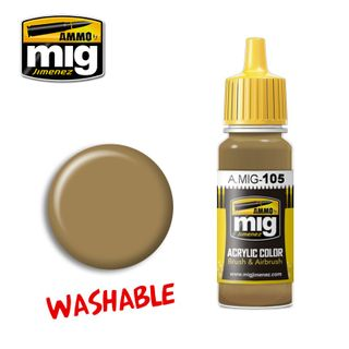 Ammo Paint, Washable Dust (Ral 8000) 17ml