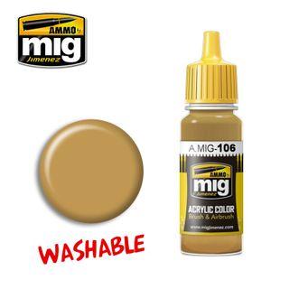 Ammo Paint, Washable Sand (Ral 8020) 17ml