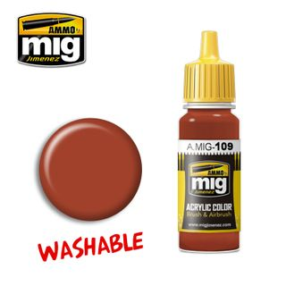 Ammo Paint, Washable Rust 17ml