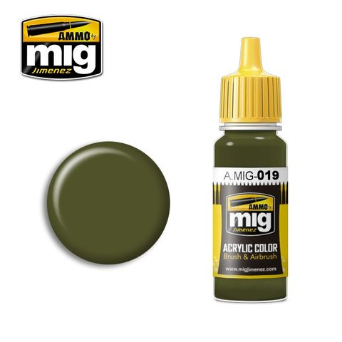Ammo Paint, 4Bo Russian Green 17ml