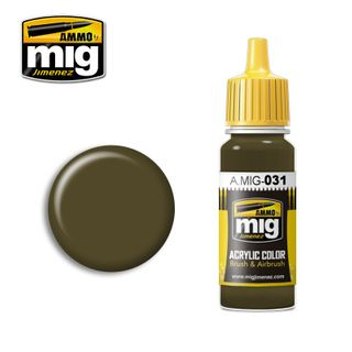 Ammo Paint, Spanish Green-Khaki 17ml