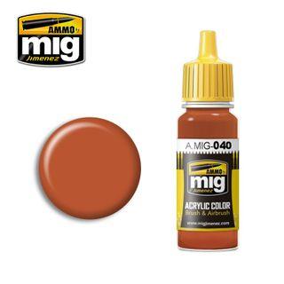 Ammo Paint, Medium Rust 17ml