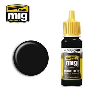 Ammo Paint, Matt Black 17ml