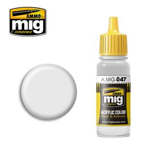 Ammo Paint, Satin White 17ml