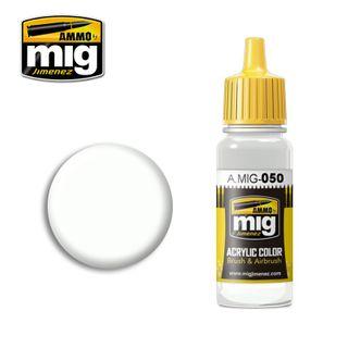 Ammo Paint, Matt White 17ml