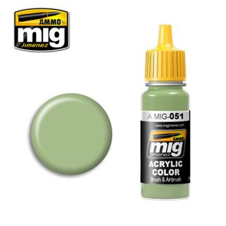 Ammo Paint, Medium Light Green 17ml