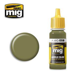 Ammo Paint, Light Green Khaki 17ml