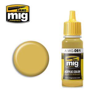 Ammo Paint, Warm Sand-Yellow 17ml