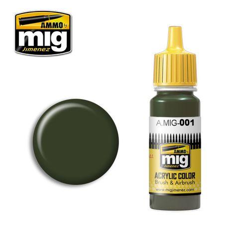 Ammo Paint, Ral 6003 Olivgrün Opt.1 17ml