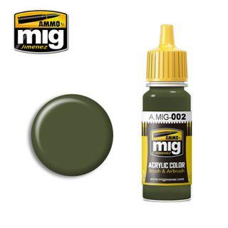 Ammo Paint, Ral 6003 Olivgrün Opt.2 17ml