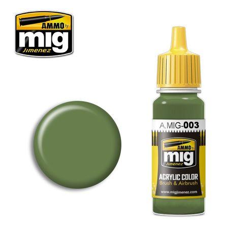 Ammo Paint, Ral 6011 Resedagrün 17ml