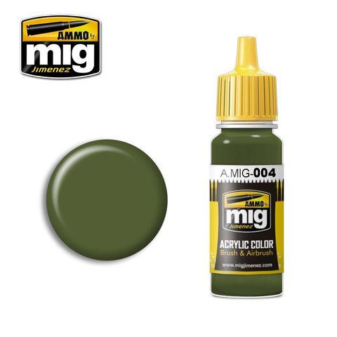 Ammo Paint, Ral 6011 B Resedagrün 17ml