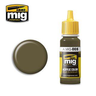 Ammo Paint, Ral 7008 Graugrün 17ml