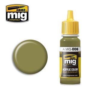 Ammo Paint, Ral 7008 Graugrün Opt.2 17ml
