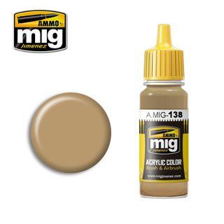 Ammo Paint, Desert Yellow 17ml
