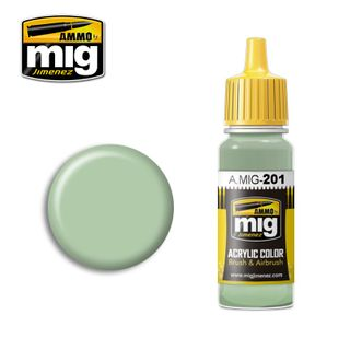 Ammo Paint, FS34424 Light Grey Green 17ml