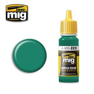 Ammo Paint, Interior Turquoise Green 17ml