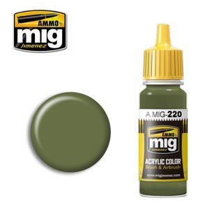 Ammo Paint, FS34151 Zinc Chromate Green(Interior Green) 17ml