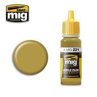 Ammo Paint, FS33481 Zinc Chromate Yellow17ml