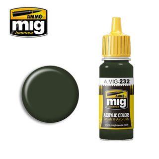 Ammo Paint, RLM 70 Schwartzgrün 17ml