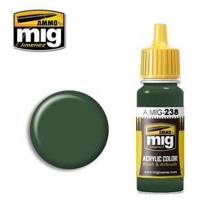Ammo Paint, FS34092 Medium Green 17ml