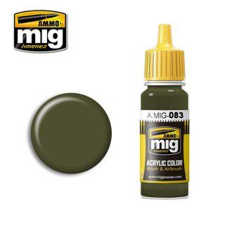 Ammo Paint, Zashchitniy Zeleno (RussianPostwar Green)17ml