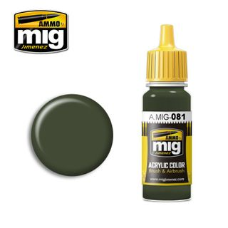 Ammo Paint, Us Olive Drab Vietnam Era (FS24087) 17ml