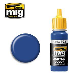 Ammo Paint, Medium Blue 17ml