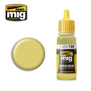 Ammo Paint, Faded Yellow 17ml