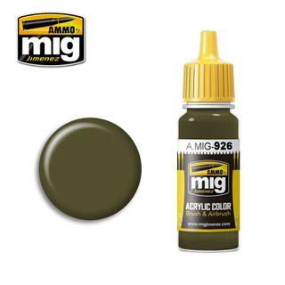Ammo Paint, Olive Drab Base 17ml
