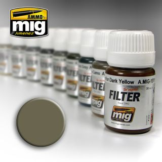 Ammo Paint, Tan For Yellow Green Filter35ml