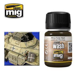 Ammo Paint, Africa Korps Wash 35ml