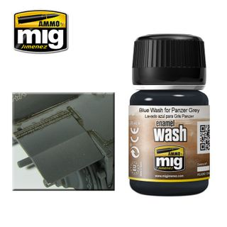 Ammo Paint, Blue Wash For Panzer Grey 35ml