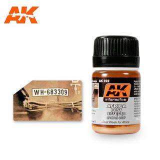 AK Interactive Enamel Africa Dust Effects