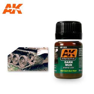 AK Interactive Enamel Dark Mud Effects
