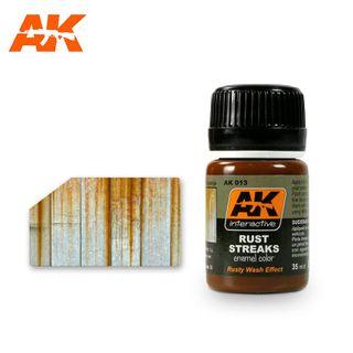 AK Interactive Enamel Rust Streaks
