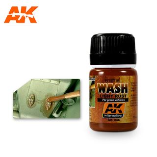 AK Interactive Enamel Light Rust Wash