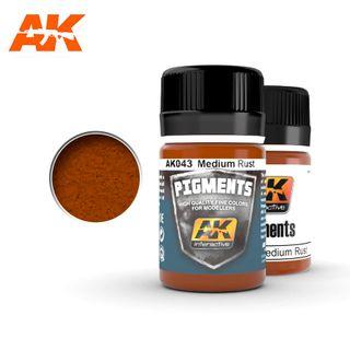 AK Interactive Pigment Medium Rust