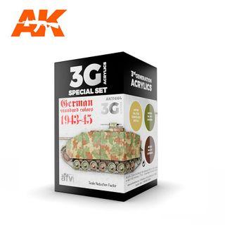 AK Interactive Acrylic German Standard 44-45 Combo 3G