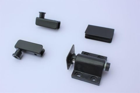 Holeless Hinge Black