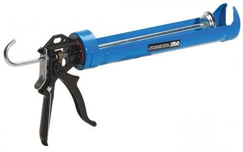 Heavy Duty Caulking Gun Blue 215mm