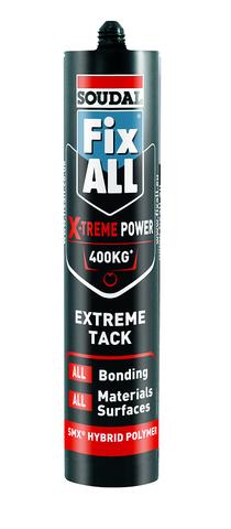 Fixall X-Treme Power White 290ml (12)