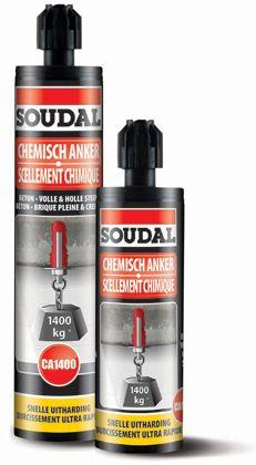 Soudal 1400 Chemical Anchor 280ml