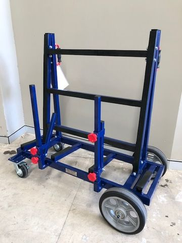 OSA Dark Blue S/Sided Trolley 1200kg WLL