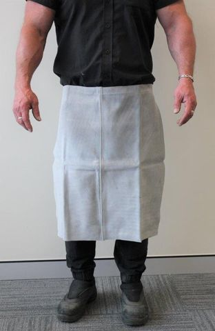 Half Apron Leather 61cm x 61cm